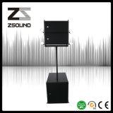 Sistema de áudio profissional pequeno Bi-AMP