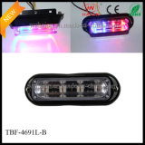 Liner4 Lensの二重Colored LED Warning Surface Lights
