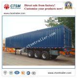 De Chinese Droge Bestelwagen van de tri-As van de Fabrikant/Aanhangwagen van de Vrachtwagen van de Doos de Semi