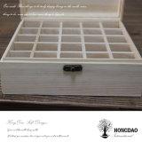 Hongdao personalizada caja de madera de color para botella de perfume