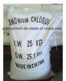 99.5% Granule industriel du chlorure d'ammonium 2-4mm de pente