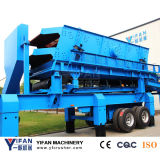 Hot Selling and Low Price Portable Screening Plant