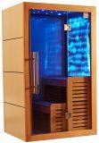 نمط جديد خشبيّة تصميم رفاهية بعيد أشعّة تحت الحمراء [سونا] غرفة مع ترقية سعر [إي-012]
