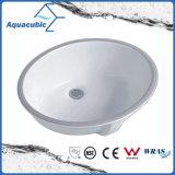 Bassin en céramique d'Underounter de bassin de salle de bains (ACB2105)