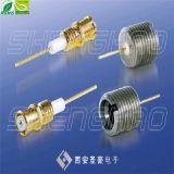 Conectores de sinterização de vidro Microstrip Smp ficha RF