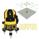 Зеленый Self-Leveling многополосный уровень лазера (SK-411G)