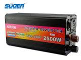 Suoer 2500W Gleichstrom 24V Energien-Inverter zum Wechselstrom-220V mit Ladegerät (HAD-2500C)