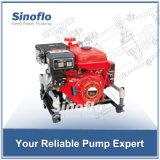 9HP 휴대용 가솔린 엔진 진공 프라이밍 화재 수도 펌프