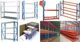 Warehouse Supermarket Racks en acier à réglage moyen