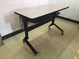La mode et de revêtement en poudre moderne Table pliante, pliage Bureau, table de Formation de pliage