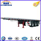 ISO CCCは3車軸20FT平面の容器のトラックのトレーラーを承認した