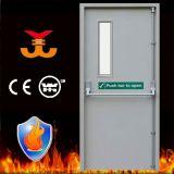90mins Steel Fire Rating Porte avec Push Bar