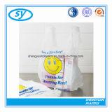 Bolso de compras plástico de la camiseta multi del color del HDPE