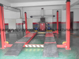 Оборудование выравнивания колеса и подниматься использовало подъем автомобиля столба 4
