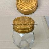 Choc en verre de forme différente pour le miel, nourriture, sauce, encombrement, mémoire