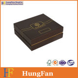 Rectángulo de papel cosmético de embalaje del producto de la salud del perfume de la impresión de lujo