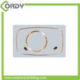 Scheda di combinazione in bianco del PVC 13.56MHz RFID di bianco per controllo di accesso