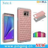 Diamante Bling Combo híbrido para Samsung Galaxy Note 6/7