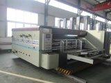 Empaquetadora acanalada de alta velocidad automática de la impresión del rectángulo del cartón