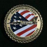 Изготовленный на заказ монетки возможности металла США воинские плоские
