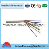 Aislamiento de PVC Condcutor de cobre de 3 núcleos de Cable de control de 4 núcleos, 450/750V/Kvvpningbo Kvv/Puerto de Shanghai