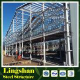 Gruppo di lavoro ondulato della struttura d'acciaio della sezione del rivestimento H della lamiera di acciaio