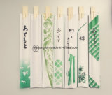 Estilo japonés Nake almacenado de los palillos del bambú de Tensoge