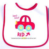 I prodotti dell'OEM hanno personalizzato le busbane francesi promozionali del bambino del Terry del cotone bianco stampate marchio