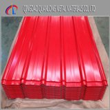 SGCCのPPGI Prepainted鋼鉄波形の屋根ふきシート