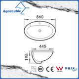 Het Bassin van de badkamers boven Tegen Ceramische Gootsteen (ACB023)
