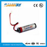 Batería de litio de 3.6V tipo espiral para animales marítimos Trackers (ER14505M)