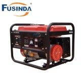 낮은 연료 소비 고능률 230V 가솔린 발전기