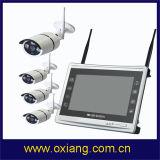 Vigilancia impermeable de la cámara del kit de WiFi NVR de la cámara del color Cmos del registrador de la radio 1080P