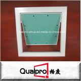 Placa de gesso de umidade com mola abrindo o painel de acesso AP7720