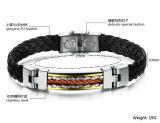 De Armband van het Leer van de Mensen van uitstekende kwaliteit