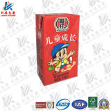 125ml Caixa de embalagem asséptica para criança