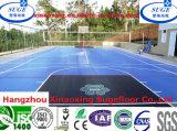 Milieuvriendelijke Gemakkelijk installeert de Vloer van de Sporten van het Hof van het Basketbal van pp