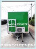 Crême glacée Van de café de remorques populaires de chariot à vendre
