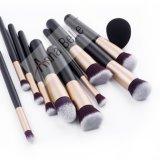 Профессиональный макияж щетки комплекта брови окрашивание Eyeshadow кромка щетки Eyeliner косметический набор с чехол дела