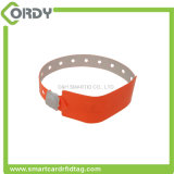 Weicher Kurbelgehäuse-BelüftungISO14443A Ntag213 NFC Wegwerf-RFID Wristband