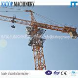 Guindaste de torre da carga máxima 6t com boa qualidade e baixo preço