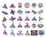 Перста металла радуги обтекатель втулки непоседы игрушки руки обтекателя втулки цветастого Tri
