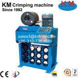 Máquina de friso Km-91h da mangueira. Tipo do computador