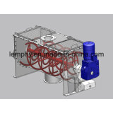 Mezclador horizontal del mezclador de la cinta para el polvo de la proteína