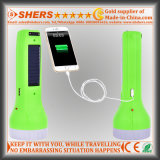 Солнечный электрофонарь 1W для охотиться с светильником чтения, USB (SH-1929)