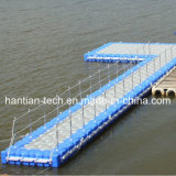 Construcción de muelle flotante de barco por pontón flotante (HT1)