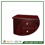 Caixa de jóias de madeira clássico elegante com estrutura fantástica