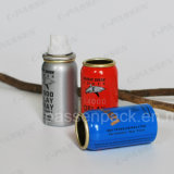 Mini bouteille d'aérosols en aluminium pour l'emballage de pulvérisation de pesticides (CPP-AAC-032)