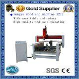Router do CNC da propaganda 3D/2D da madeira de metal de China