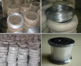 Fil de fer galvanisé par fournisseur de la Chine pour le matériau de construction